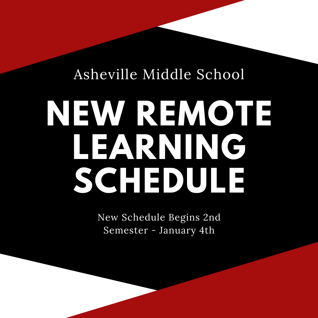 New Remote Learning Schedule