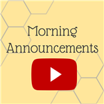 Morning announcements on YouTube