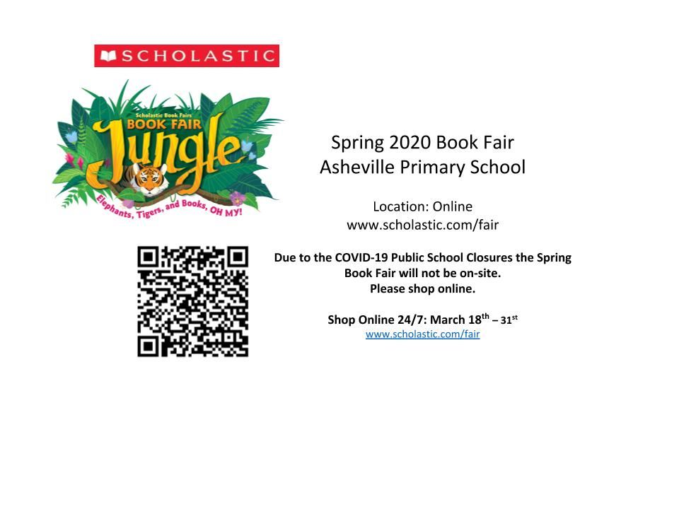 Spring Book Fair Online Shopping Only