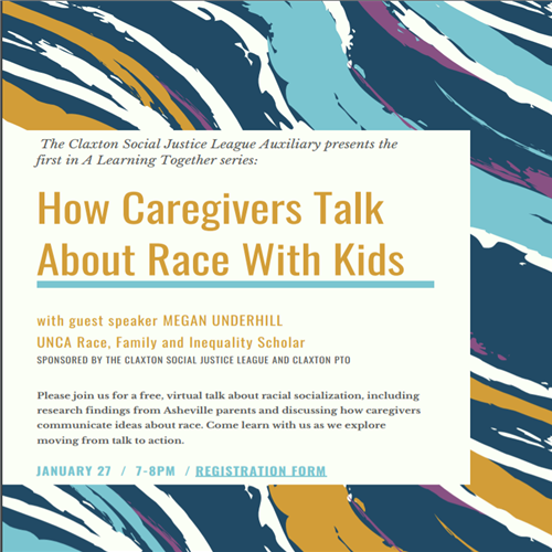 How caregivers talk to their children about race